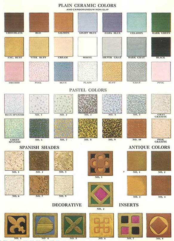 Color Choice Idea For Home Tiles