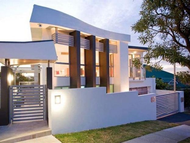 Cool Front Design For Modern Minimalist Home
