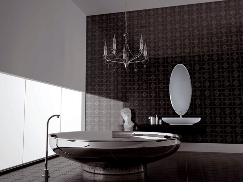 Elegant Interior Design For Attractive Bathroom