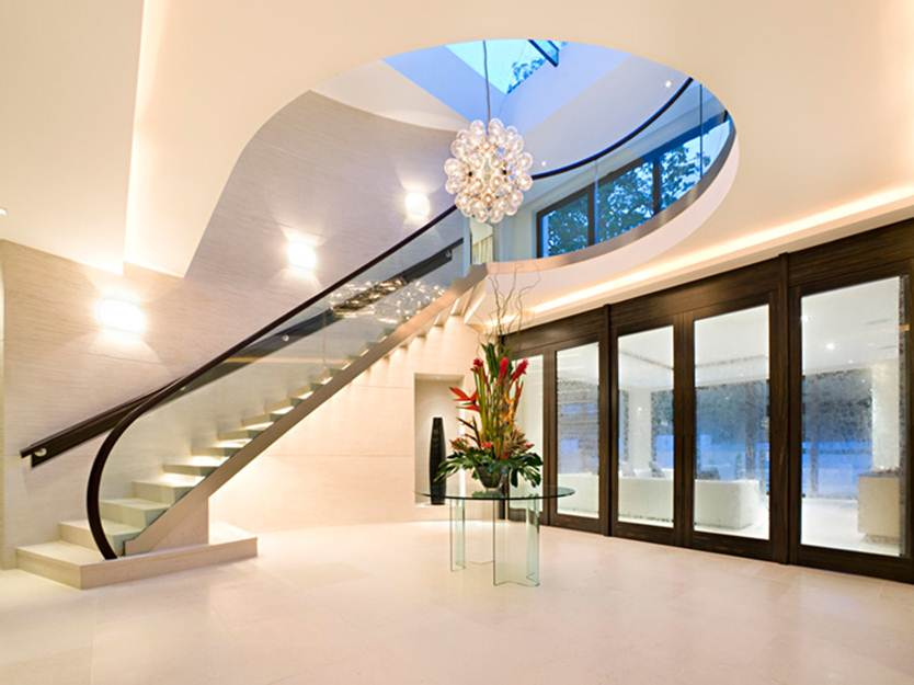 Elegant Stair Design For Modern Home