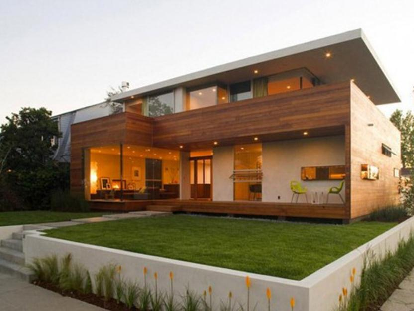 Modern Minimalist Wooden House Design Ideas 4 Home Ideas