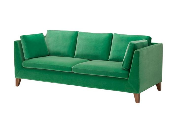 Green Sofa Color For Modern Home