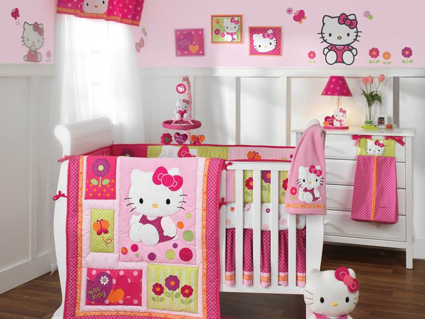 Hello Kitty Bed For Baby Nursery