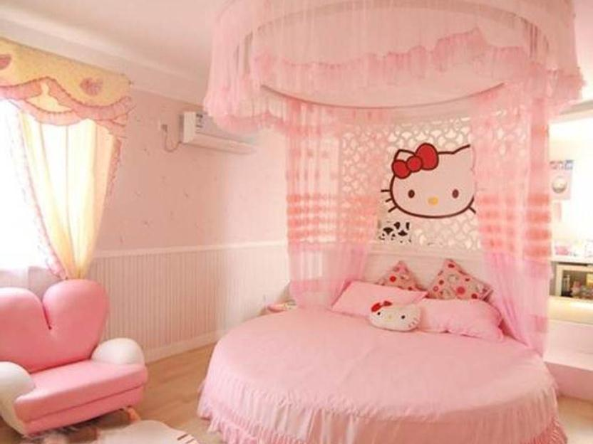 Hello Kitty Bedroom Furniture Design Idea