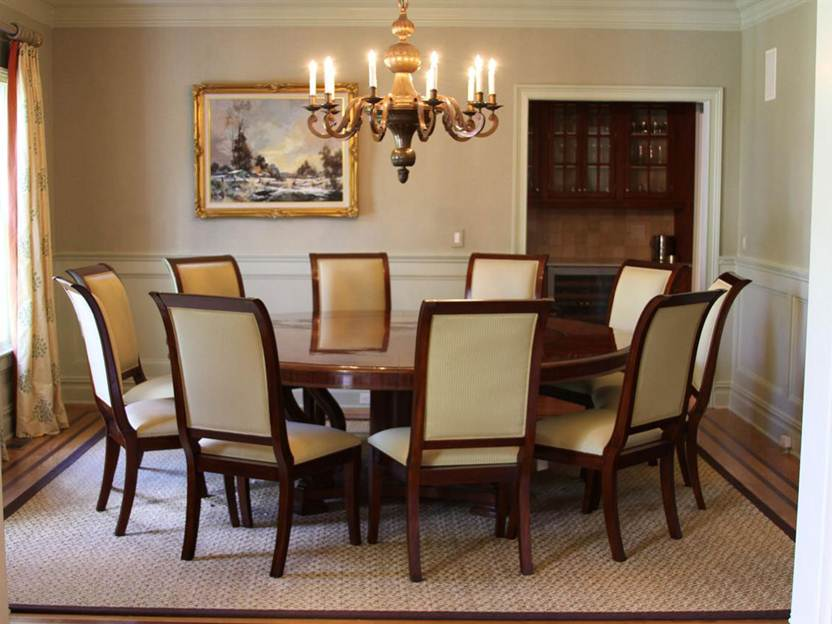 How To Decor Dining Room Interior