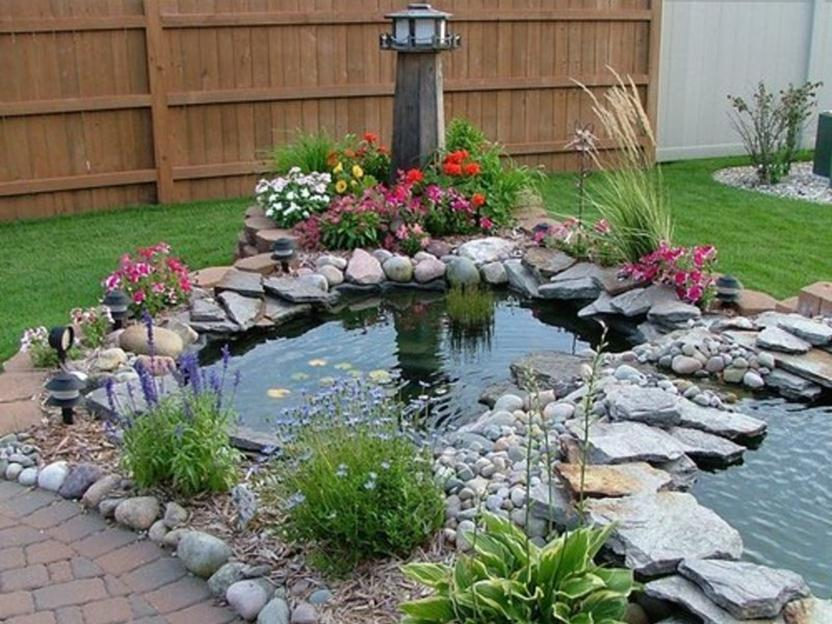 How To Make Fish Pond Look Beautiful