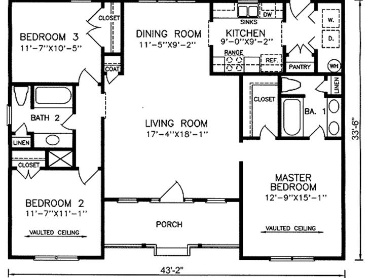Ideal Minimalist Home Plan For New Family