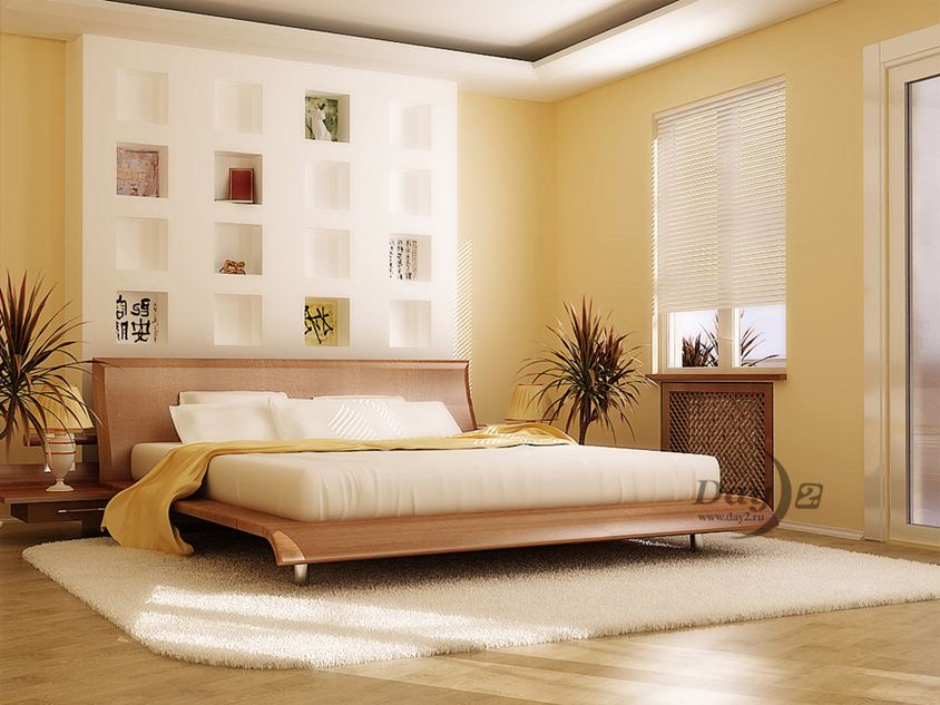 Interior Design Idea For Attractive Bedroom