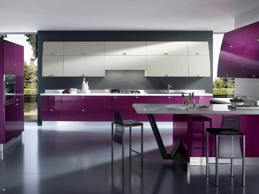 Latest Modern Minimalist Kitchen Model 2014