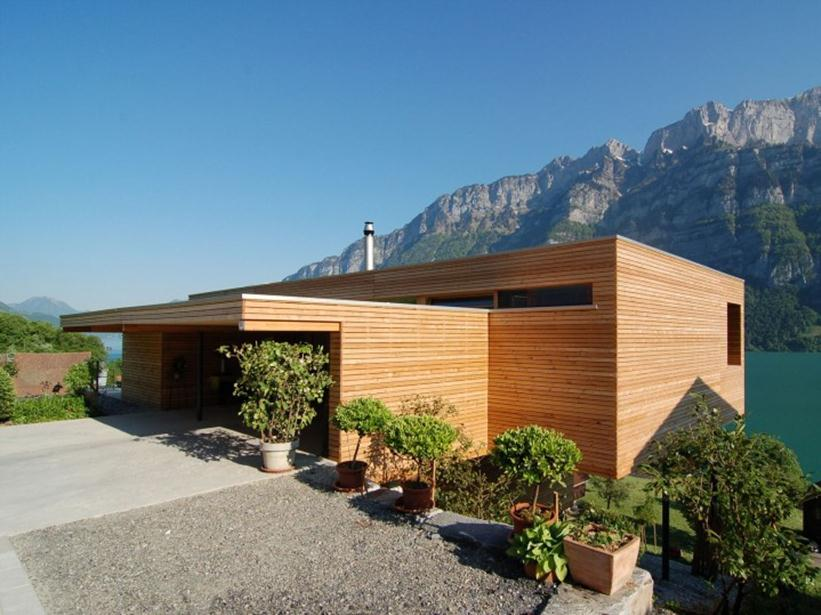 Minimalist Wooden House Photo Gallery