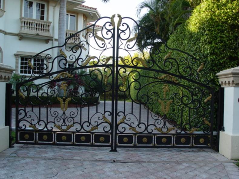 Modern Iron Fence Design Models