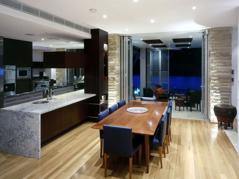 Narrow Kitchen Dining Ideas