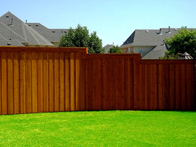 Modern Wooden Fence Design Model