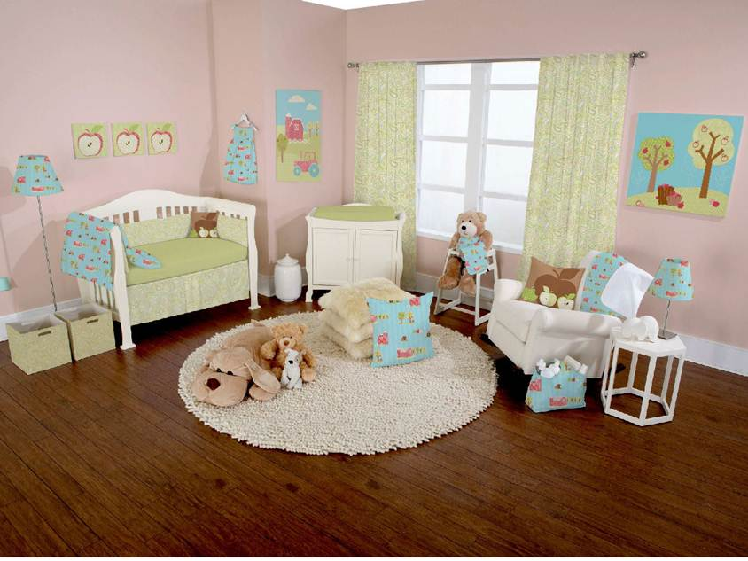 Nice Baby's Bedroom Interior Design