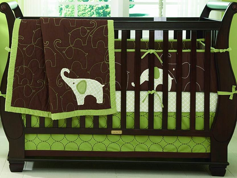 Nice Color Idea For Cute Baby Bed
