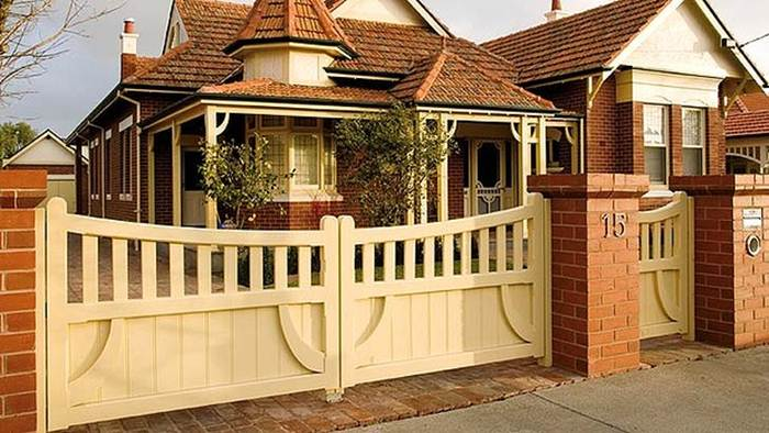 Nice Fence Design For Modern House
