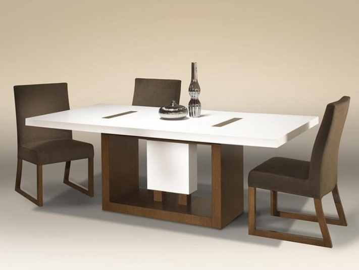Nice Minimalist Dining Table Design Model