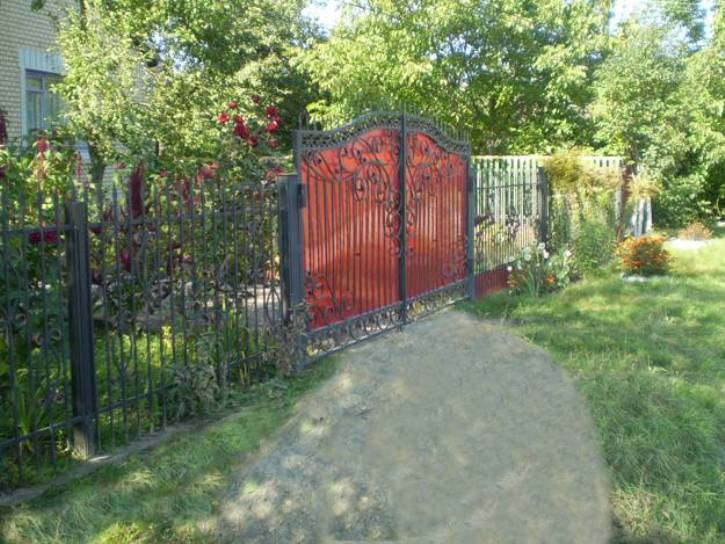 Paint Idea To Build Iron Fence