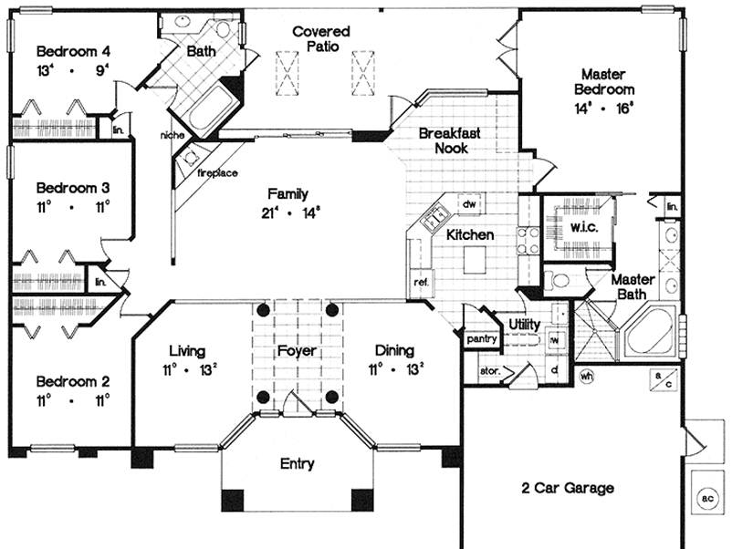 Plan Design Idea For Modern House
