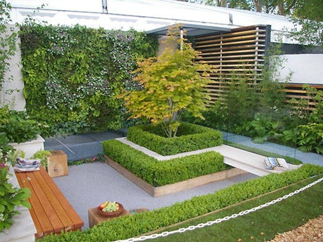 Small garden ideas for back home 4 home ideas for Cool back garden designs