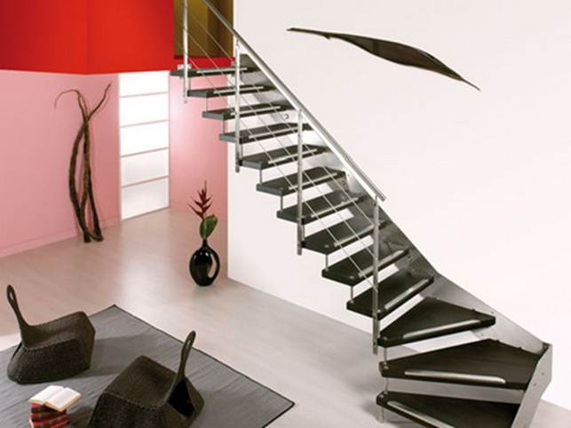 Stairs Design To Make Home Look Luxury