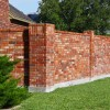 Tips To Build Brick Fence Design