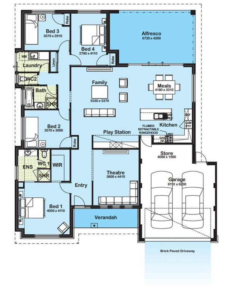 Modern minimalist house plan gallery 4 home ideas Modern house floor plans