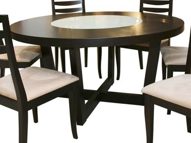 Top Wooden Round Dining Table Idea