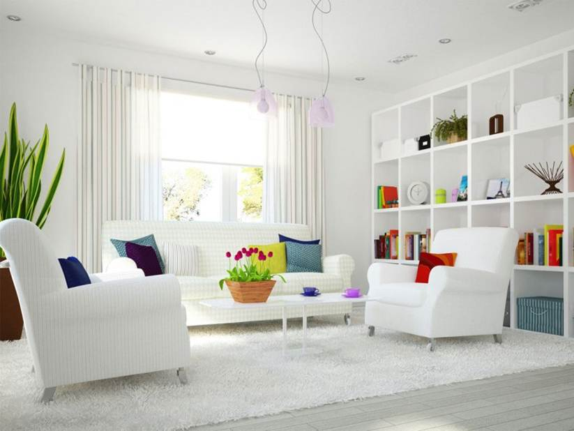 white interior paintWhite Color Idea For Home Interior Paint  4 Home Ideas