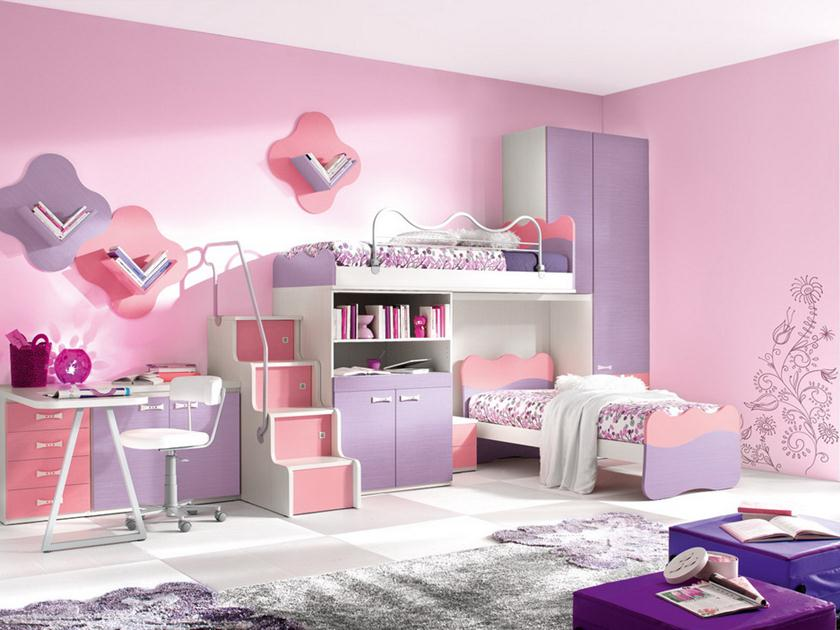 Beautiful Bedroom Set Idea For Girls