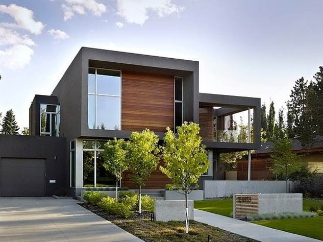 Beautiful modern minimalist house photo gallery 4 home ideas for Minimalist house gallery