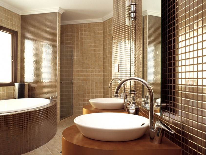 Lovely Beautiful Modern Bathroom Decorating Idea . Part 25