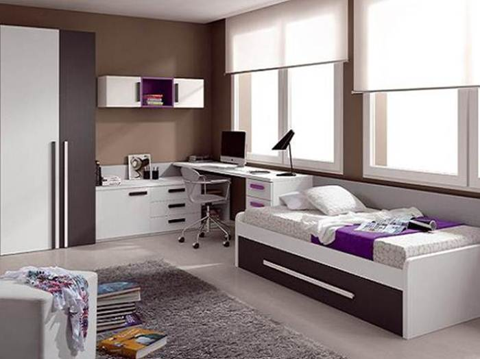 Black White Kid Desk Design