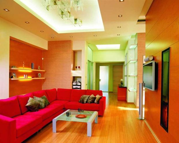 Colorful Color Combination For Modern Home