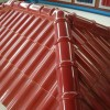 Cool Red Color For Home Roof Design