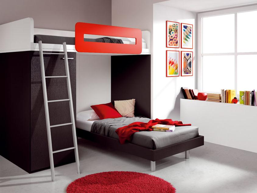 Creative Teen Bedroom Decorating Idea