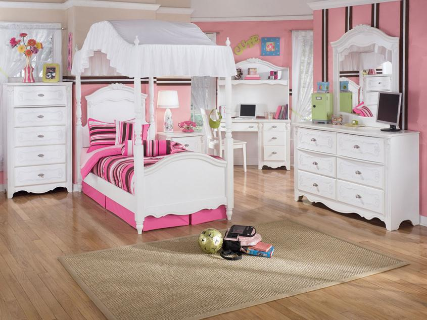 Cute Children Bedroom Set Design Idea
