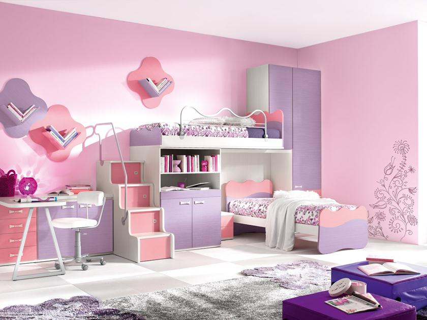 Cute Color Combination For Children Bedroom