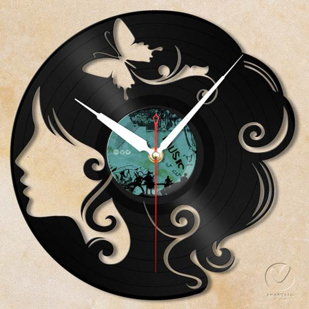 Decorative Wall Clock Design Idea - 4 Home Ideas