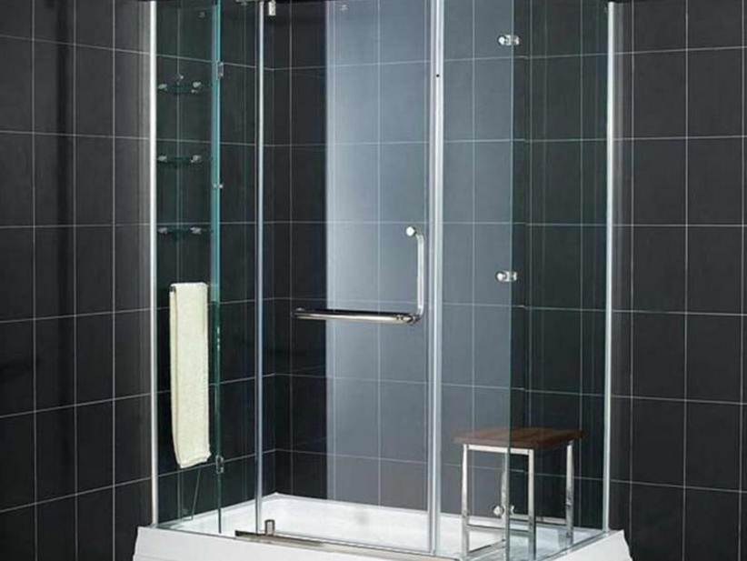 Elegant Black Ceramic For Bathroom Interior