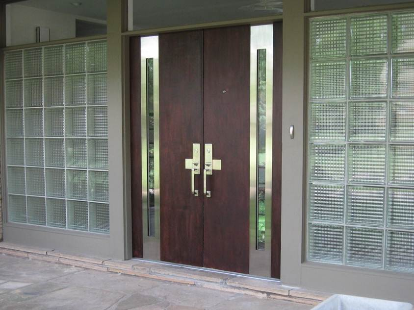 Elegant Front Door Design For Modern Home