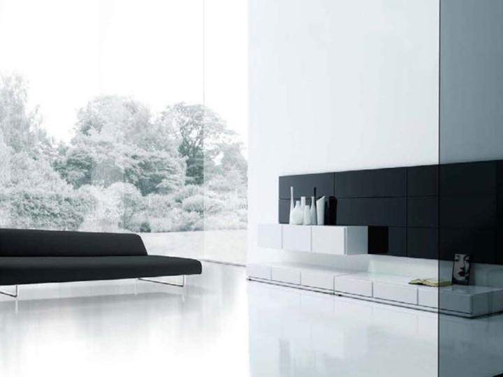 Elegant Furniture For Black And White Living Room
