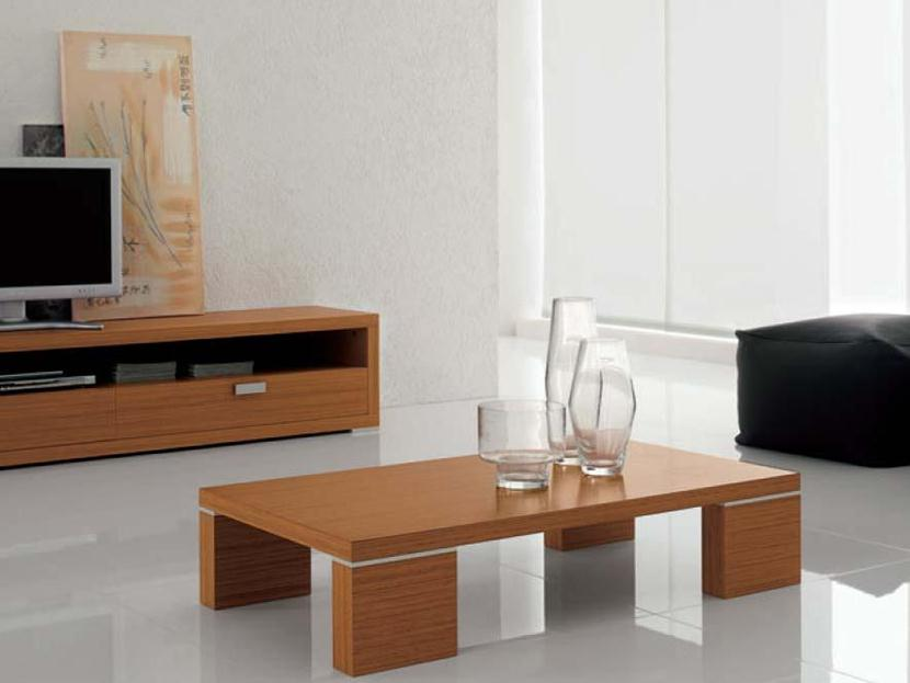 Elegant Wooden Coffee Table Model