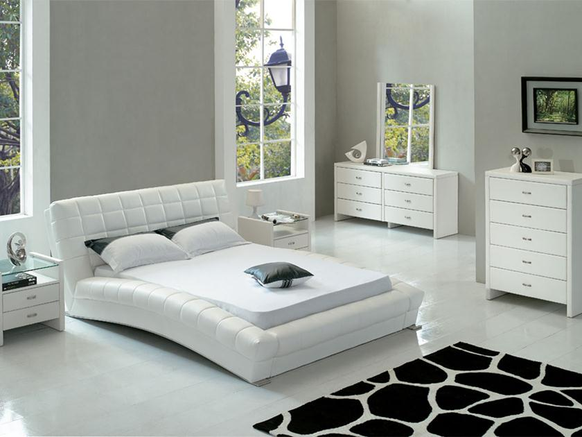 Furniture Idea For White Bedroom Design