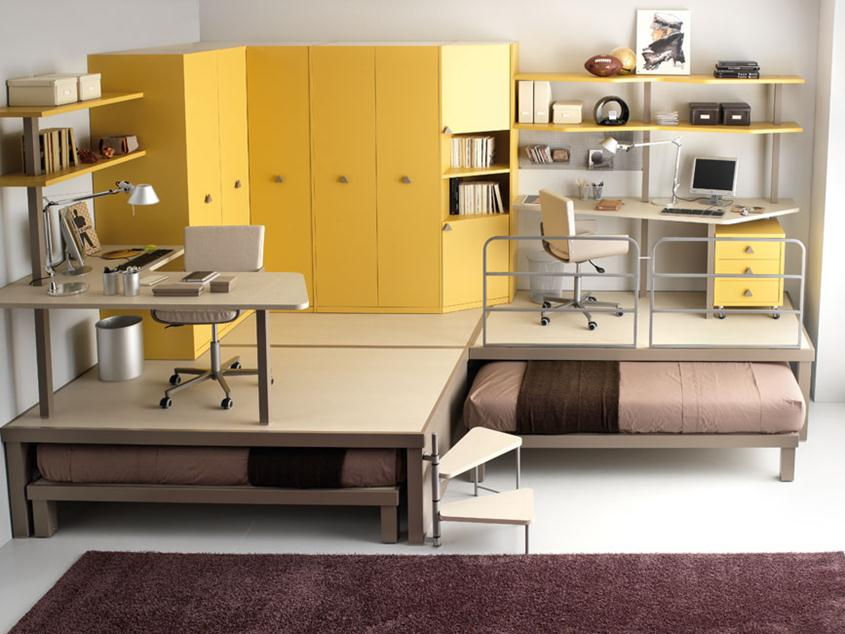 How To Build Creative Teen Bedroom Design