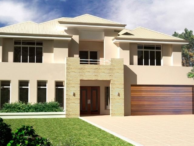 Luxury Minimalist 2 Storey Home Design
