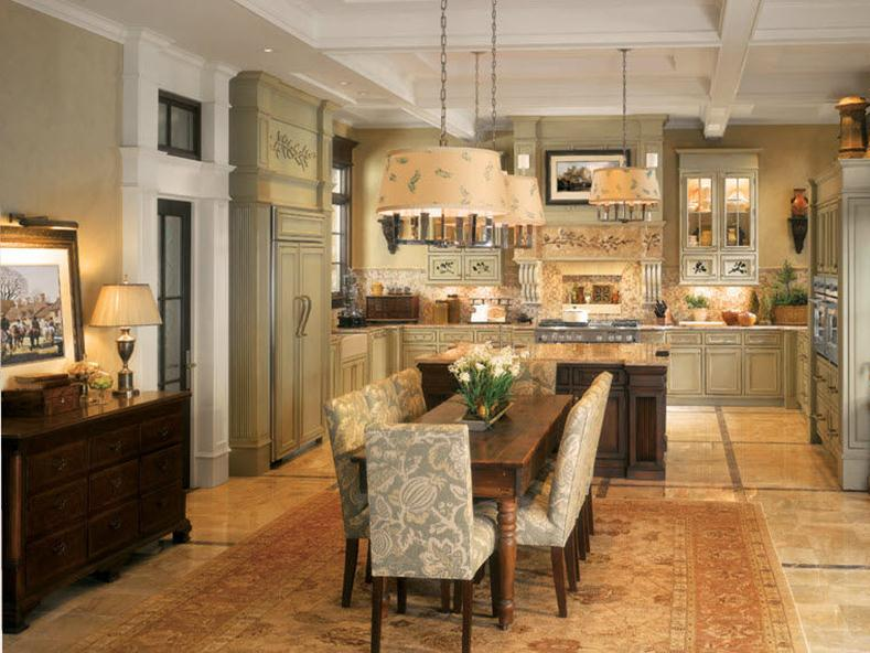 Luxury Traditional Kitchen Design Idea