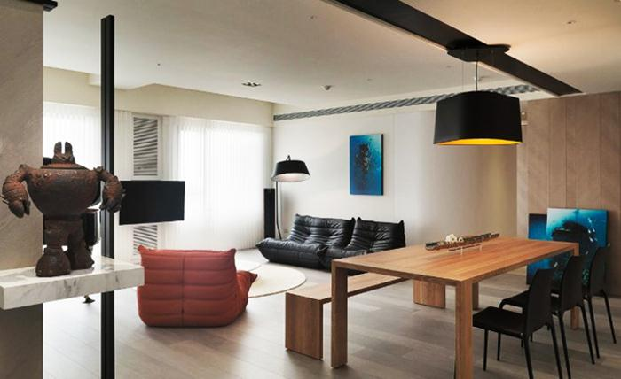 Minimalist Apartment Design With Modern Style
