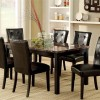 Minimalist Dining Chair With Dark Color