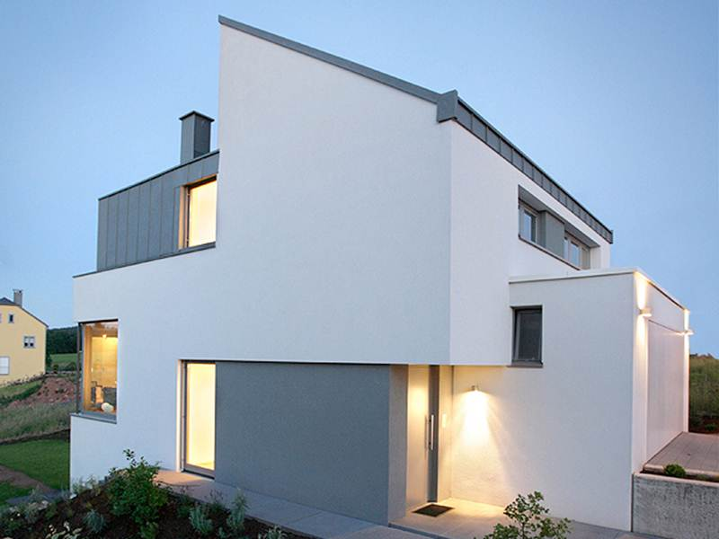 Simple minimalist house design examples 4 home ideas for Simple minimalist house